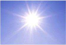 太陽光による浄化